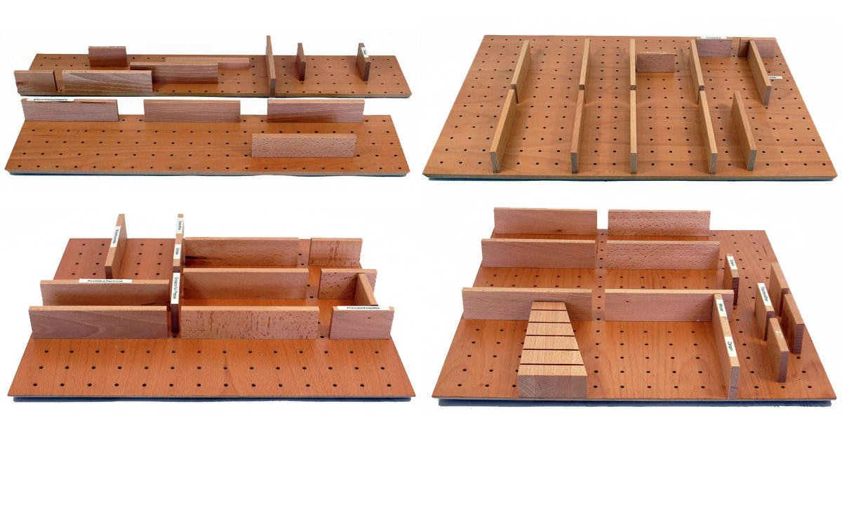 holz besteckeinsatz system belli box komplettset besteckkasten ebay. Black Bedroom Furniture Sets. Home Design Ideas