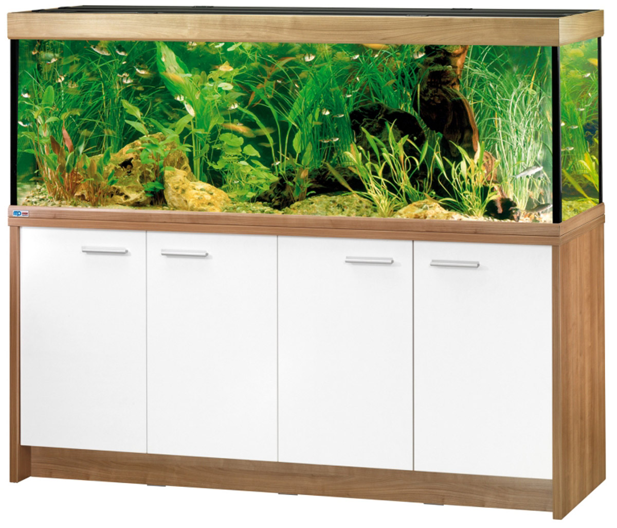 eheim scubaline 640 aquarium kombination mit unterschrank 180x60x60cm neu nuss ebay. Black Bedroom Furniture Sets. Home Design Ideas
