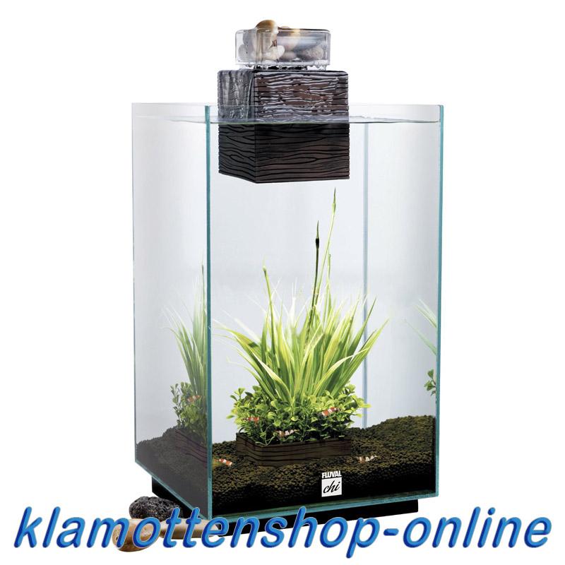 fluval chi nano komplett aquarium mit filter und led beleuchtung 25 l neu ebay. Black Bedroom Furniture Sets. Home Design Ideas