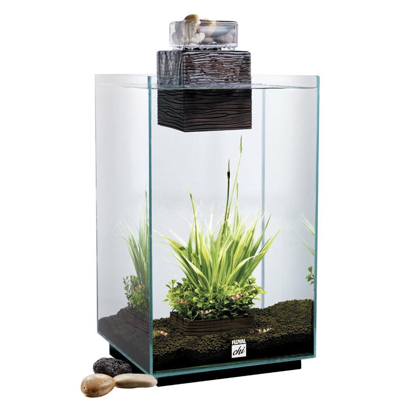 Fluval Chi Nano komplett Aquarium mit Filter und LED Beleuchtung 25 L NEU   eBay