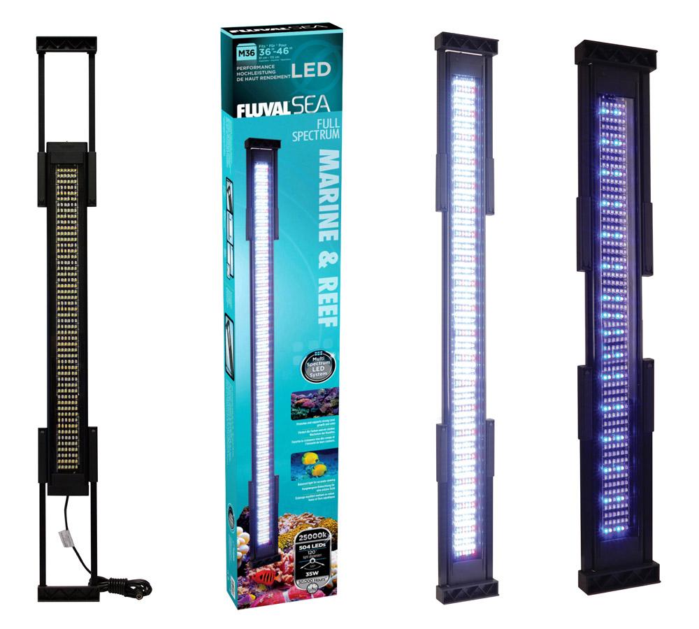 fluval m36 led leuchtbalken aquarium beleuchtung aufsatzlampe lampe leuchte neu ebay. Black Bedroom Furniture Sets. Home Design Ideas