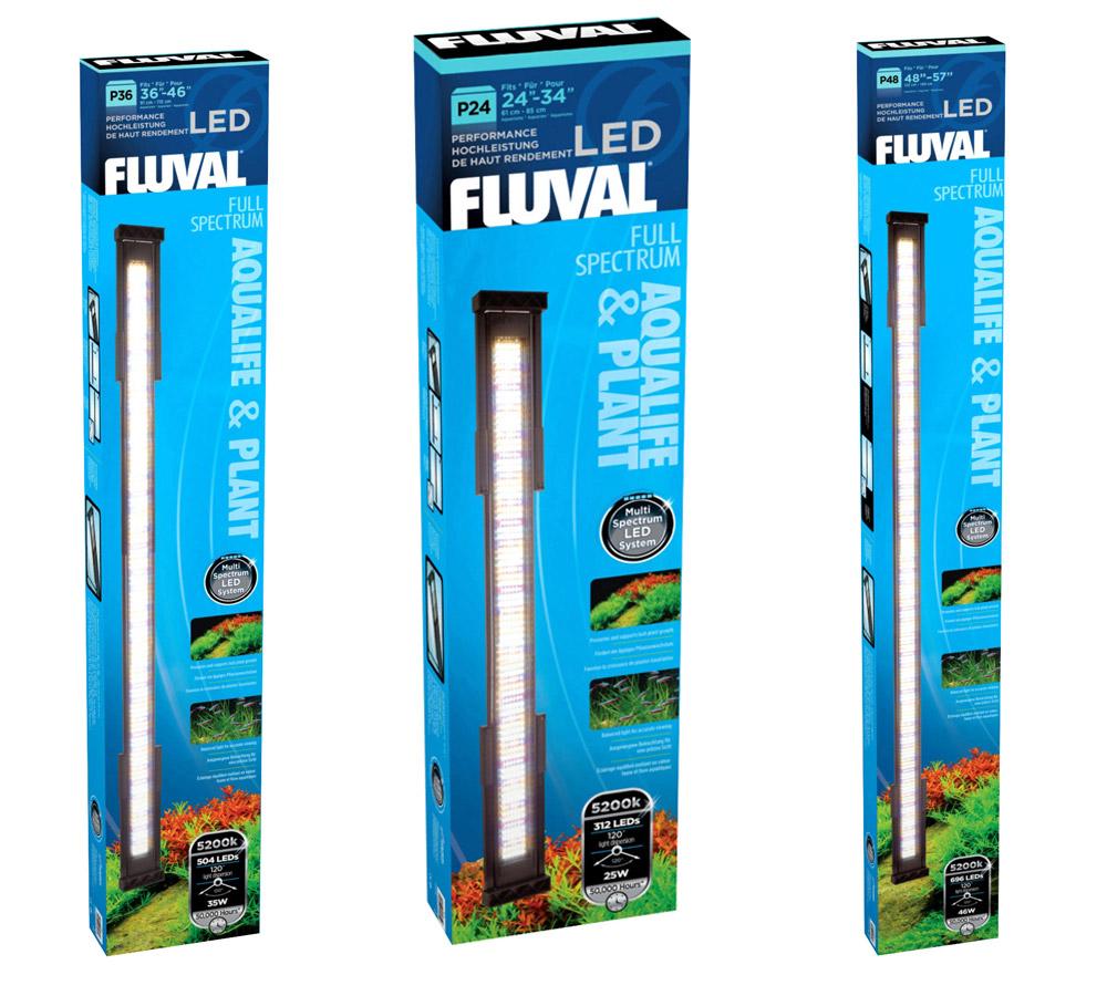 fluval p24 p36 p48 led leuchtbalken aquarium beleuchtung aufsatzlampe lampe neu ebay. Black Bedroom Furniture Sets. Home Design Ideas