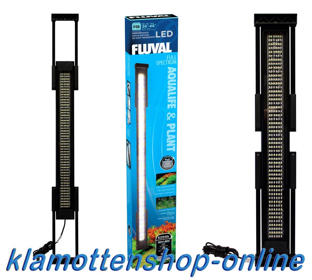 fluval p24 p36 p48 led leuchtbalken aquarium beleuchtung. Black Bedroom Furniture Sets. Home Design Ideas